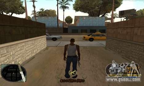 C-HUD Army Gang for GTA San Andreas