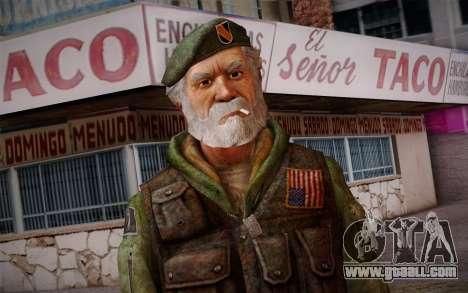 Bill from Left 4 Dead Beta for GTA San Andreas third screenshot