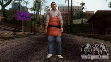 GTA 4 Skin 13 for GTA San Andreas