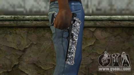 New Gun v2 for GTA San Andreas third screenshot