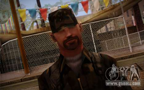 Soldier Skin 3 for GTA San Andreas third screenshot