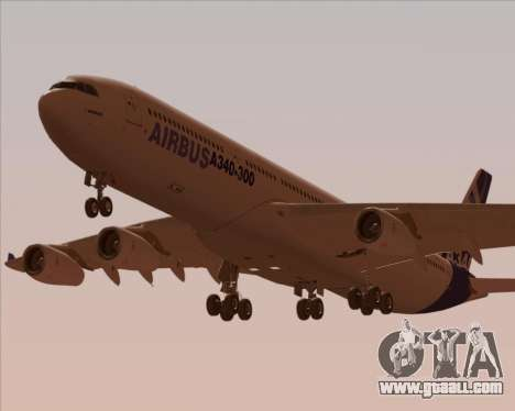 Airbus A340-300 Airbus S A S House Livery for GTA San Andreas engine