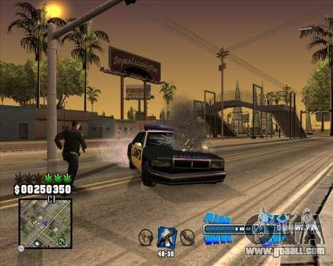 C-HUD Big Cull for GTA San Andreas forth screenshot