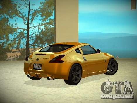 Nissan 370 Z Z34 2010 Tunable for GTA San Andreas left view