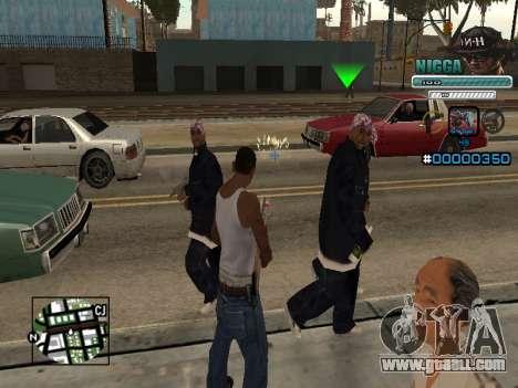 C-HUD Man in a Cap for GTA San Andreas second screenshot