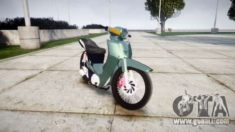Yamaha Crypton for GTA 4