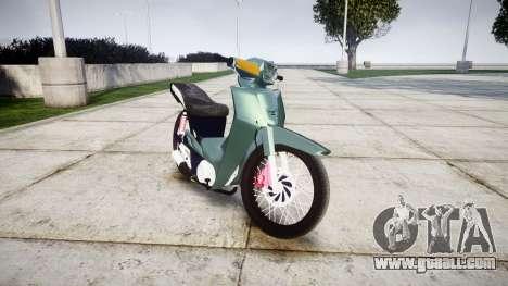 Yamaha Crypton for GTA 4