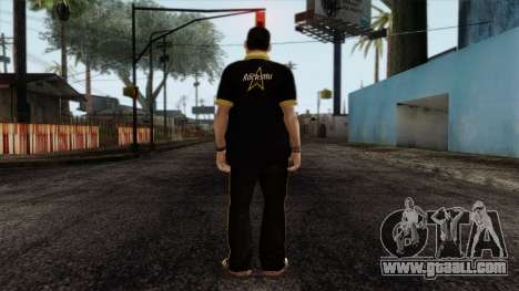 GTA 4 Skin 12 for GTA San Andreas second screenshot