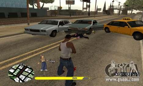 C-HUD Vagos for GTA San Andreas third screenshot