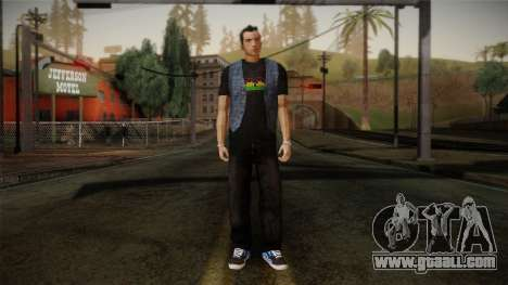 Gedimas Jamal Skin HD for GTA San Andreas