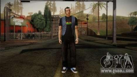 Gedimas Jamal Skin HD for GTA San Andreas