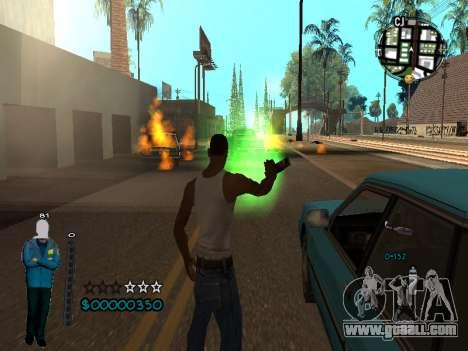 FBI HUD for GTA San Andreas forth screenshot