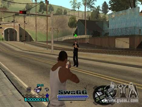 CLEO HUD SWAGG for GTA San Andreas third screenshot