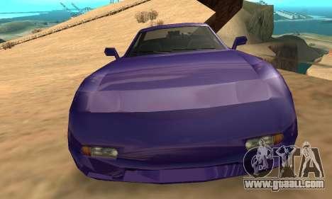 Beta ZR-350 for GTA San Andreas interior