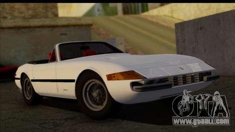 Ferrari 365 GTS4 Daytona (US-spec) 1971 [HQLM] for GTA San Andreas