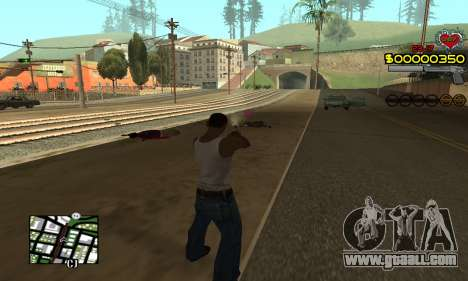 C-HUD By Fernando for GTA San Andreas third screenshot