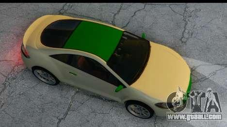 GTA 5 Maibatsu Penumbra for GTA San Andreas back view