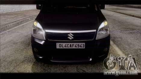 Suzuki Wagon R 2010 for GTA San Andreas right view