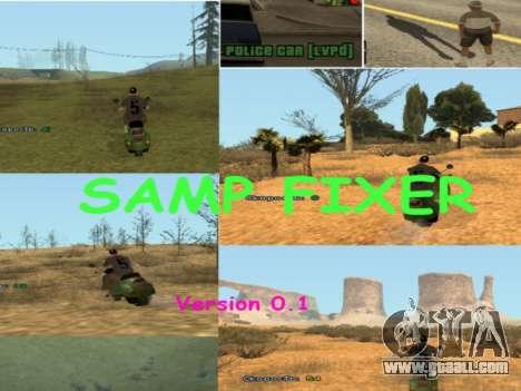 SAMP Fixer for GTA San Andreas