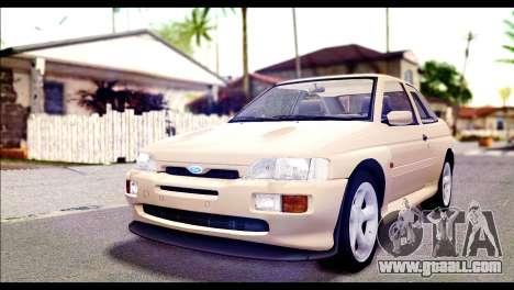 Ford Escort RS Cosworth [HQLM] for GTA San Andreas