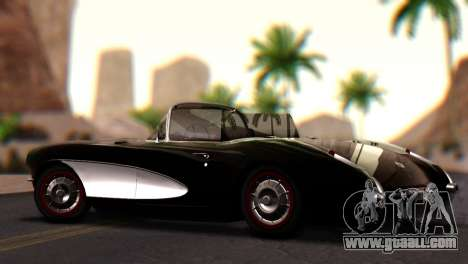 Chevrolet Corvette C1 1962 PJ for GTA San Andreas left view