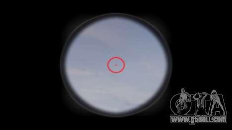 Rifle AR-15 CQB target aimpoint for GTA 4 third screenshot