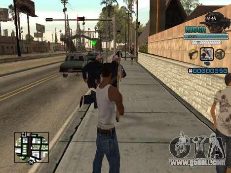 C-HUD Man in a Cap for GTA San Andreas third screenshot