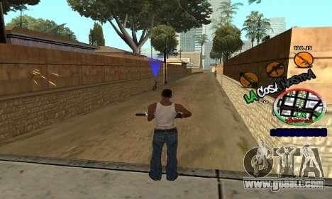 C-HUD La Cosa Nostra for GTA San Andreas forth screenshot