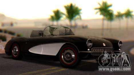 Chevrolet Corvette C1 1962 PJ for GTA San Andreas
