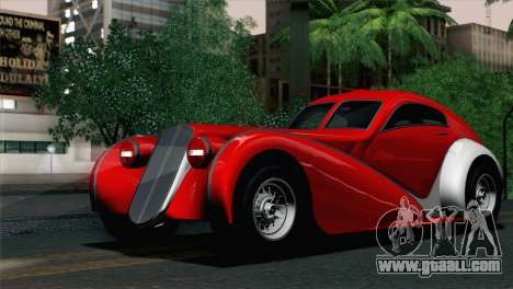GTA V Truffade Z-Type [IVF] for GTA San Andreas