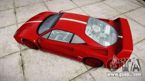 Ferrari F40 1987 [EPM] Tricolore for GTA 4 right view