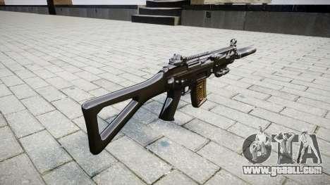 Machine SIG SG 552 silencer for GTA 4 second screenshot
