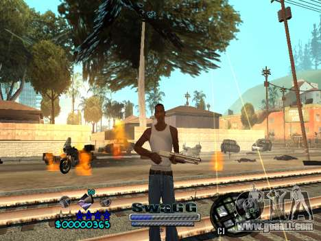 CLEO HUD SWAGG for GTA San Andreas forth screenshot