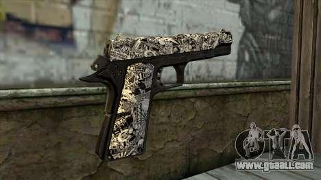 New Gun v1 for GTA San Andreas second screenshot