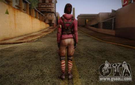 Zoey from Left 4 Dead Beta for GTA San Andreas second screenshot