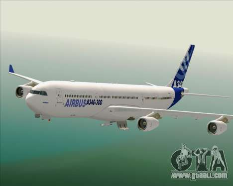 Airbus A340-300 Airbus S A S House Livery for GTA San Andreas