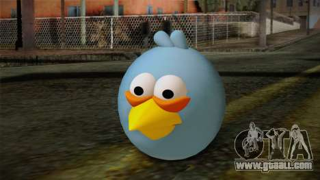 Blue Bird from Angry Birds for GTA San Andreas
