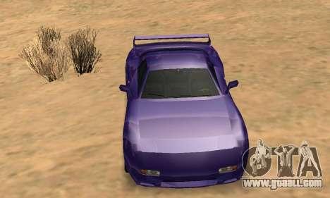 Beta ZR-350 for GTA San Andreas wheels