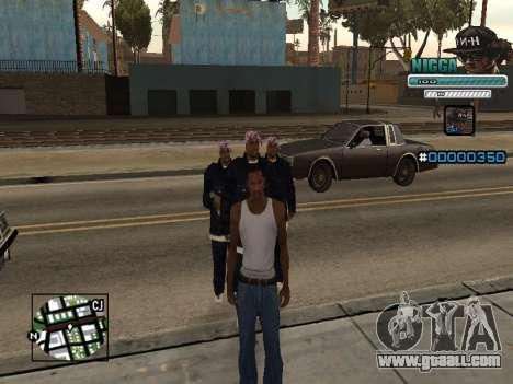 C-HUD Man in a Cap for GTA San Andreas