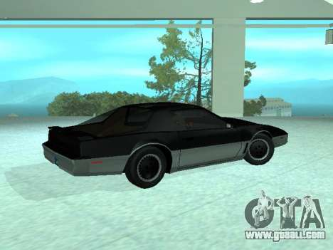 Pontiac Trans-Am K. A. R. R. for GTA San Andreas left view