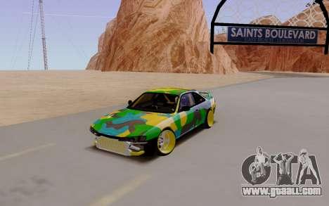 Nissan Silvia S14 Hunter for GTA San Andreas