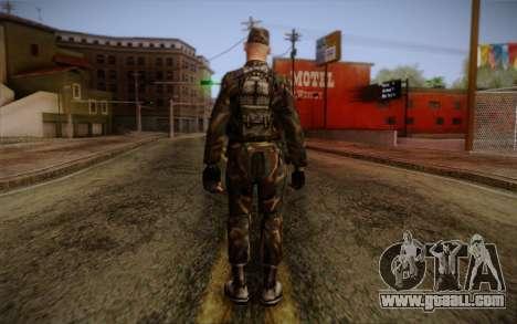 Soldier Skin 3 for GTA San Andreas second screenshot