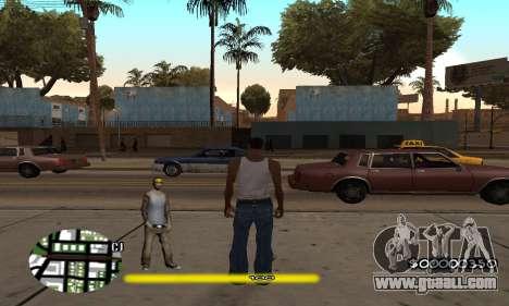 C-HUD Vagos for GTA San Andreas