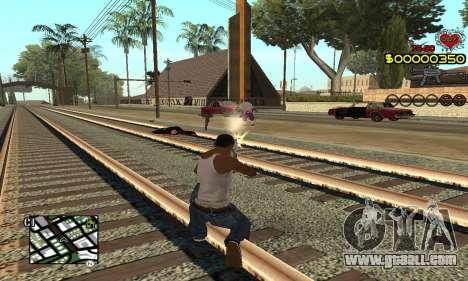 C-HUD By Fernando for GTA San Andreas second screenshot