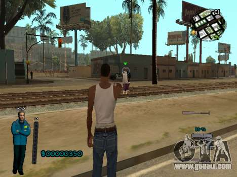 FBI HUD for GTA San Andreas