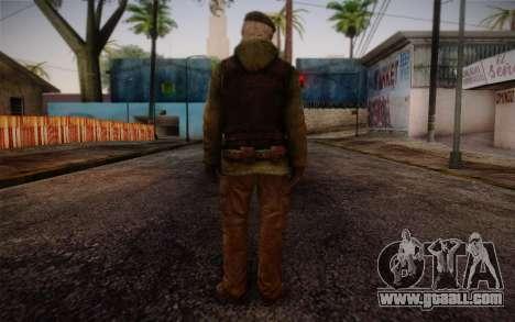 Bill from Left 4 Dead Beta for GTA San Andreas second screenshot