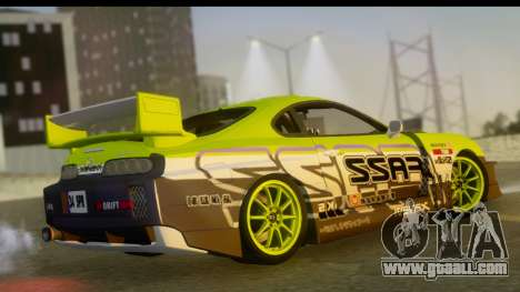 Toyota Supra Drift for GTA San Andreas left view