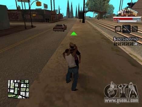 CLEO HUD for SA:MP - RP for GTA San Andreas third screenshot
