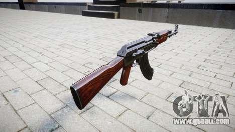 The AK-47 Stock for GTA 4 second screenshot