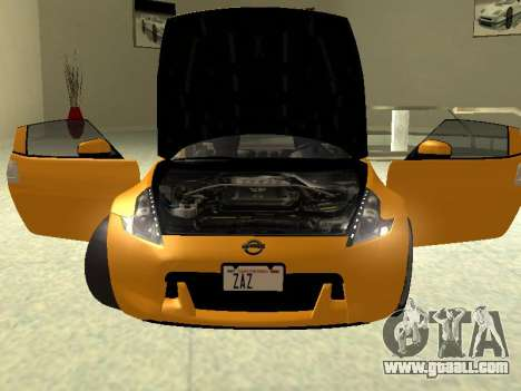 Nissan 370 Z Z34 2010 Tunable for GTA San Andreas right view